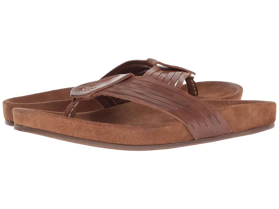 John Varvatos Collection - Almada Woven Sandal (Brownstone) Mens Sandals