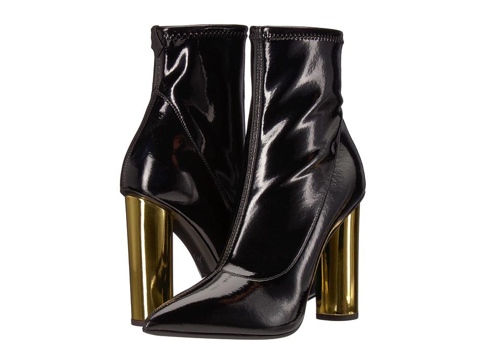 Giuseppe Zanotti Crudelia (Svinyl Stretch Nero) Women's Shoes
