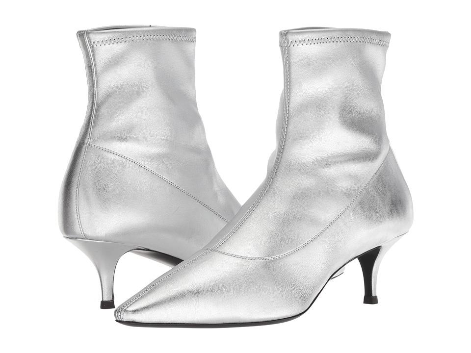 Giuseppe Zanotti I870030 (Jenji Stretch Argento) Women's Shoes