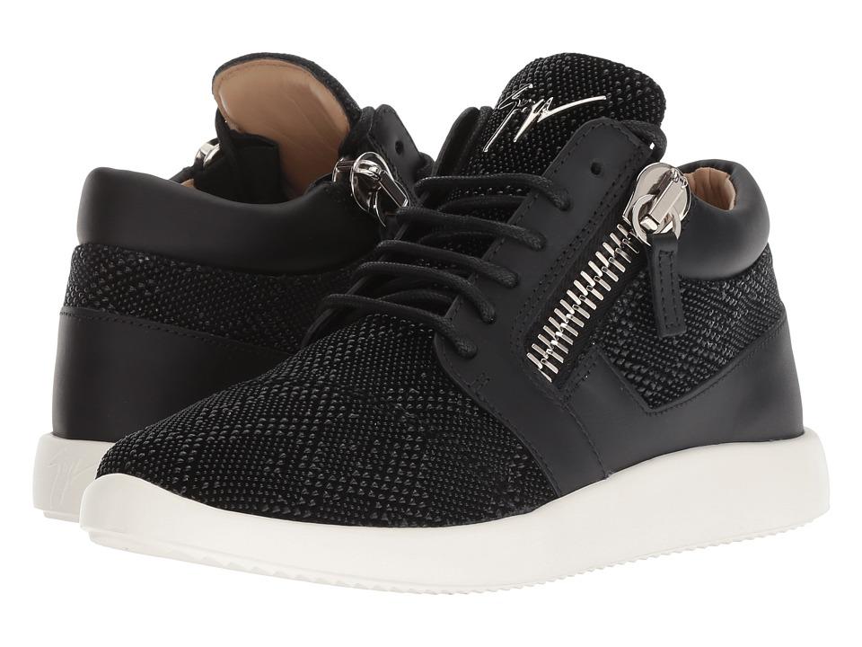 Giuseppe Zanotti RW80005 (Scissors Nero) Women's Shoes
