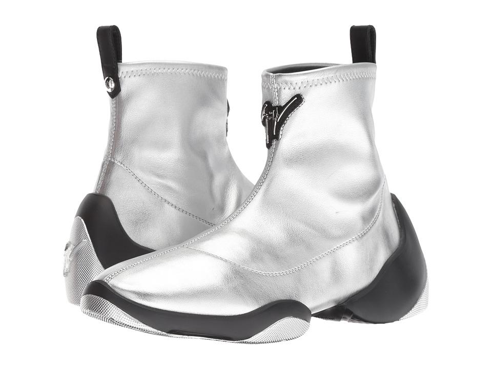 Giuseppe Zanotti RW80000 (Jengi Stretch Argento) Women's Shoes