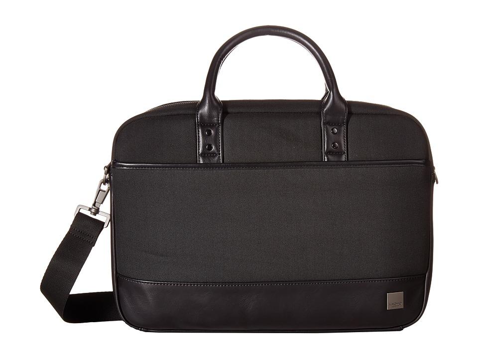 KNOMO London - Holborn Princeton Briefcase (Black) Briefcase Bags