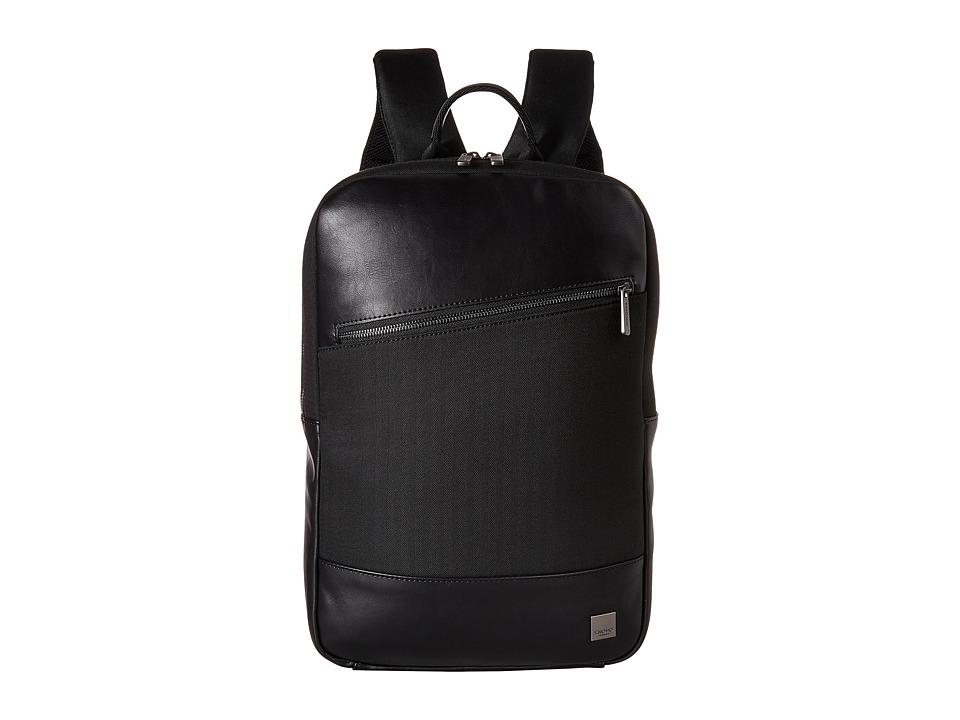 KNOMO London - Holborn Southampton Backpack (Black) Backpack Bags