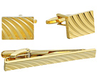 Stacy Adams Cuff Link and Tie Bar Set