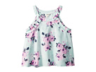 Maddie by Maddie Ziegler Pleat Trim Floral Tank Top (Big Kids)