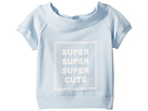 Maddie by Maddie Ziegler Off the Shoulder Graphic Tee (Big Kids)