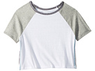 Maddie by Maddie Ziegler Short Sleeve Color Block Tee with Side Stripe (Big Kids)