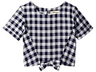 Maddie by Maddie Ziegler Gingham Top with Tie Front (Big Kids)