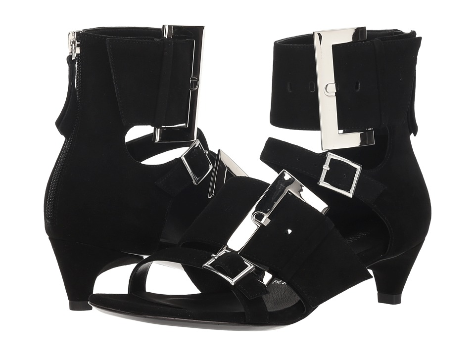 Opening Ceremony Ozzy Buckle Sandal Short (Black) Sandals