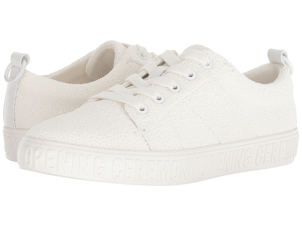 Opening Ceremony La Cienega Caviar Bead (White) Women's Shoes
