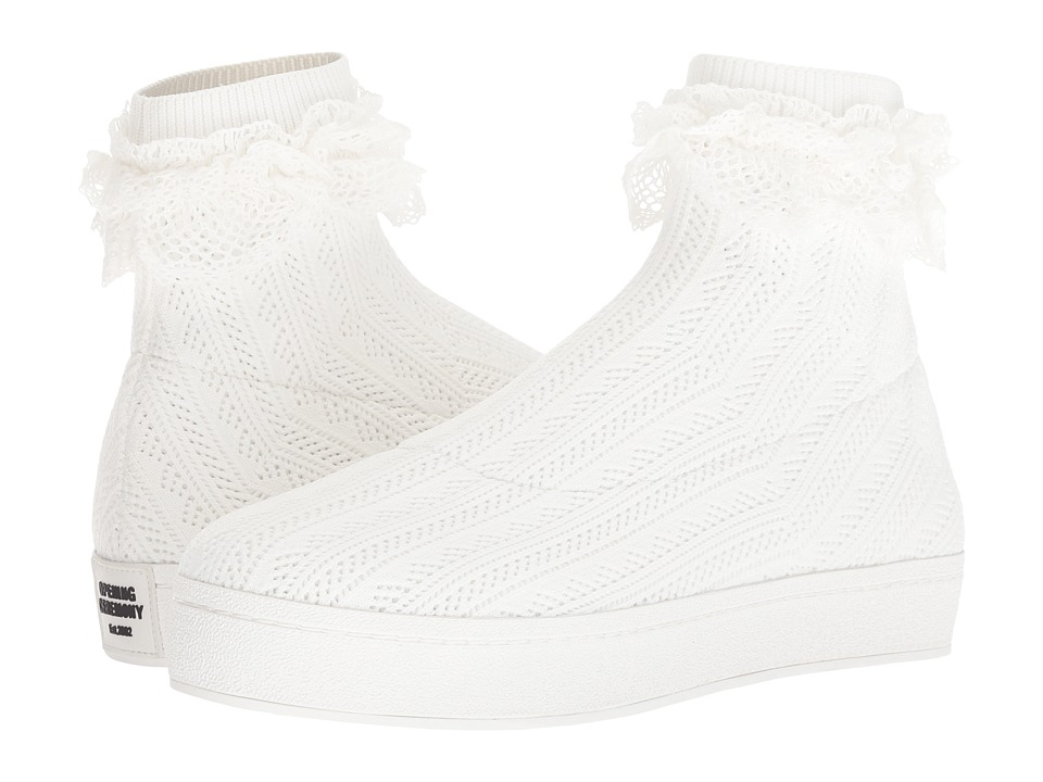 Opening Ceremony Bobby Lace (White) Women's Shoes