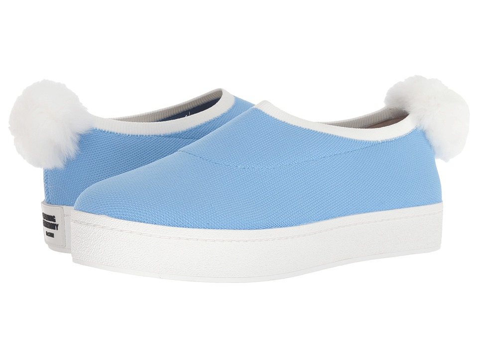 Opening Ceremony Bobby Sock Pom Pom (Postal Blue) Women's Shoes