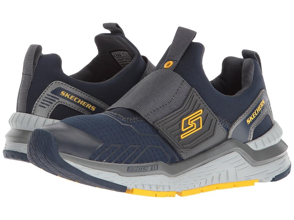 SKECHERS KIDS - Hyperjolt - Thermospeed 97643L Lights (Little Kid/Big Kid) (Navy/Charcoal) Boys Shoes