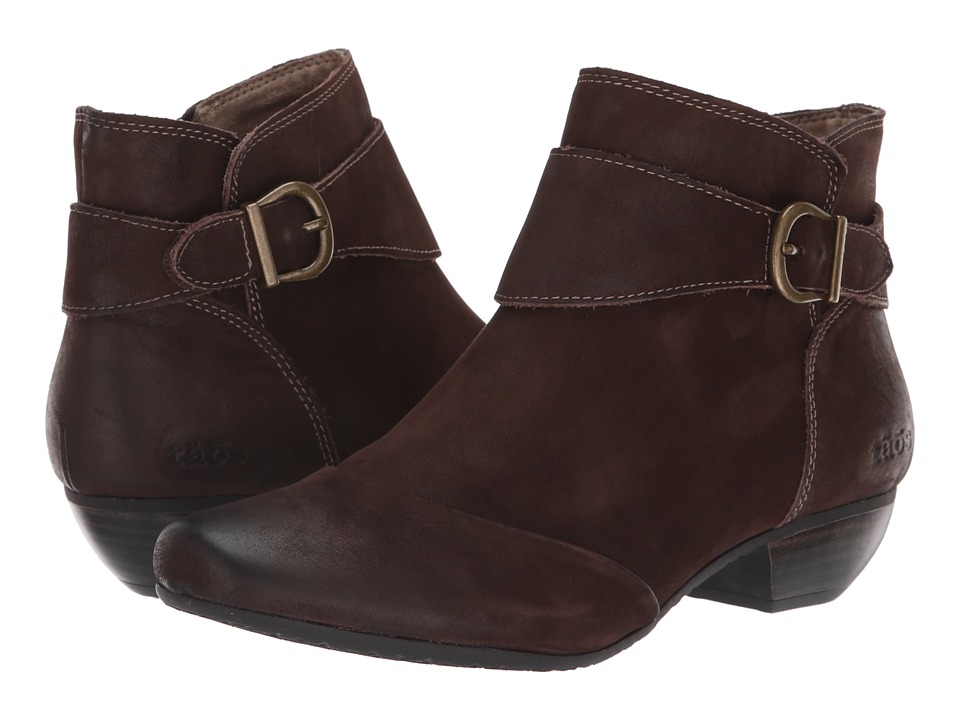 Taos Footwear Addition (Chocolate Oiled) Women's Shoes