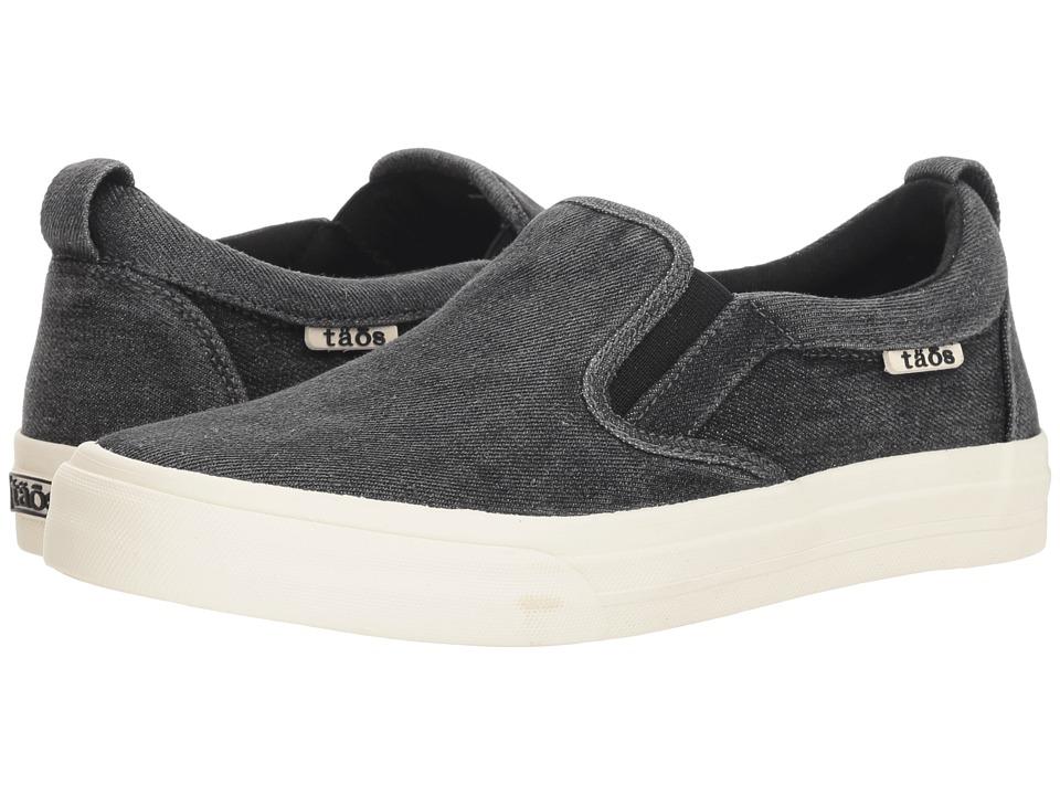 Taos Footwear Rubber Soul (Black) Slip-On Shoes