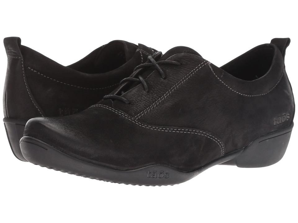 Taos Footwear Getaway (Black Oiled) Women's Shoes