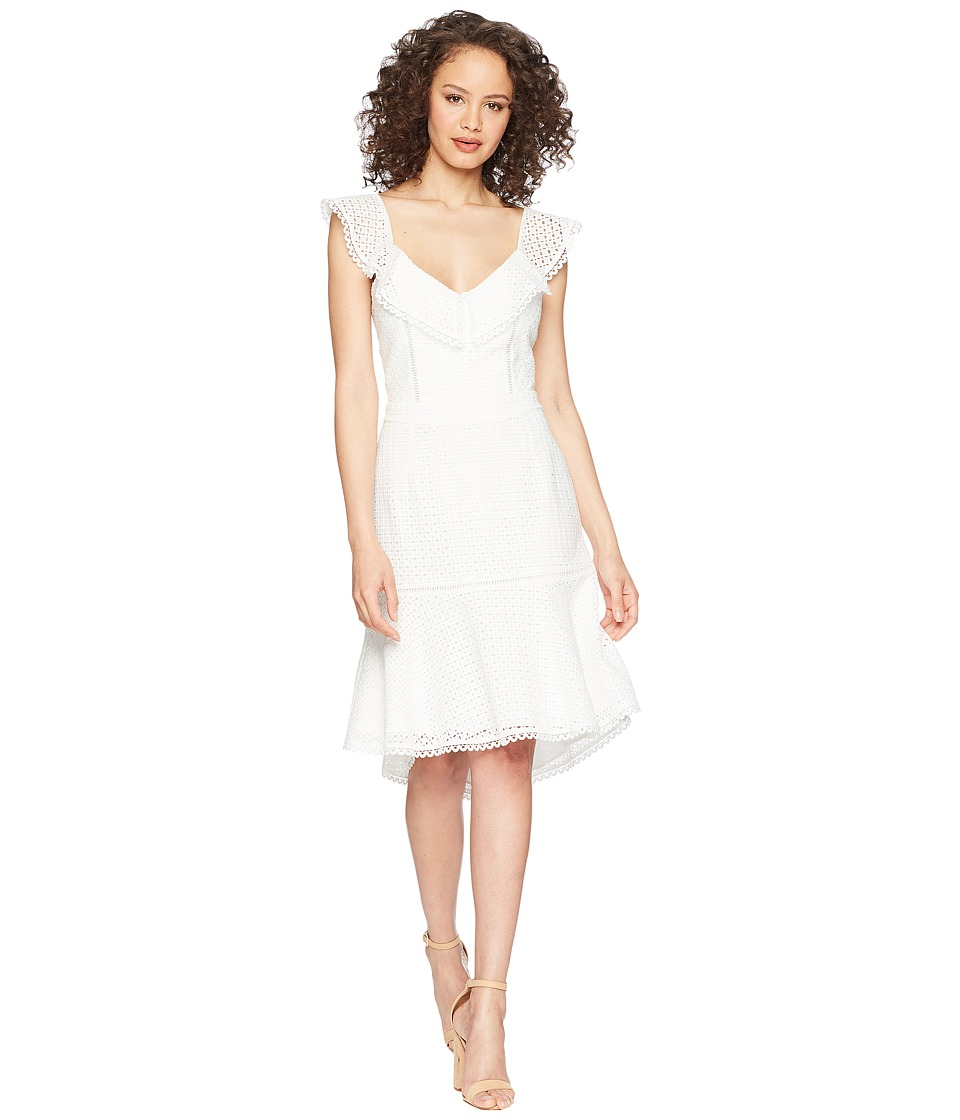 Adelyn Rae - Parker Trumpet Dress (Off-White) Womens Dress