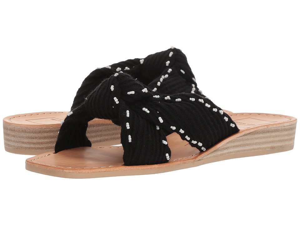 Dolce Vita - Haviva (Black Fabric) Womens Shoes