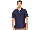 Todd Snyder Short Sleeve Jacquard Shirt