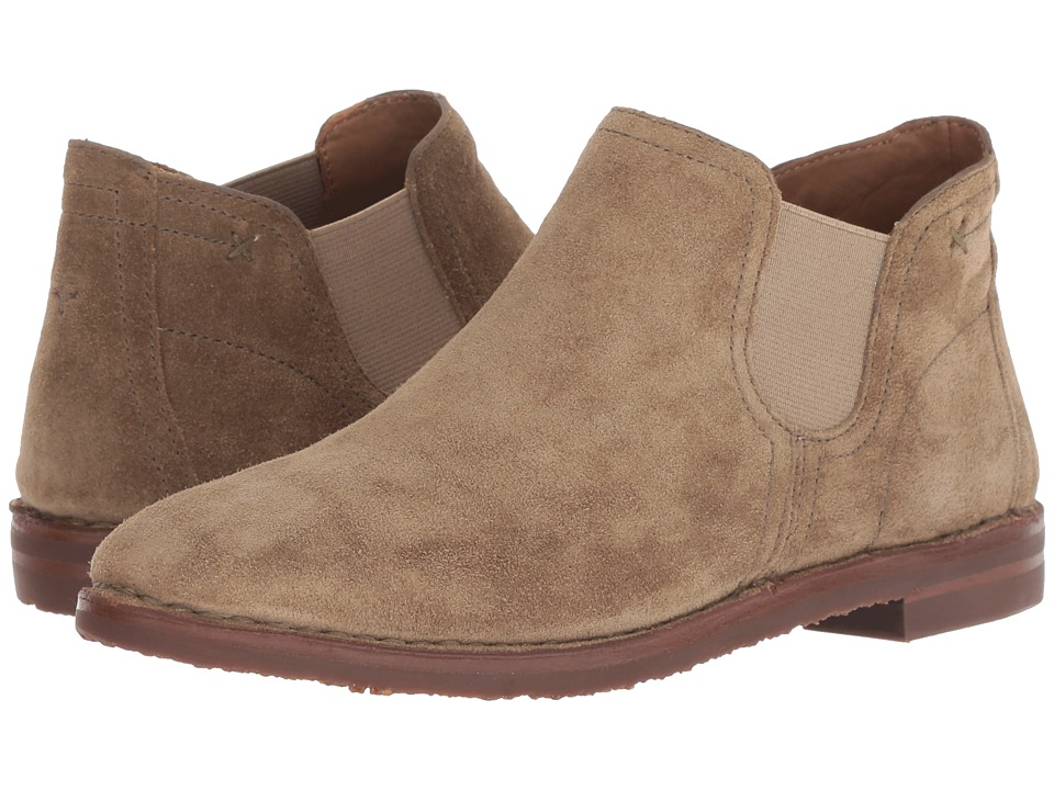 Trask Allison (Taupe Oiled Suede) Women's Dress Boots