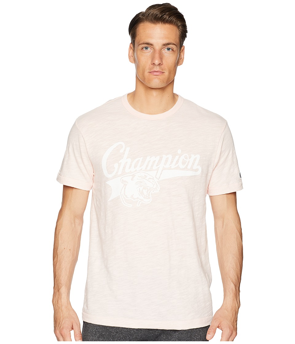 Todd Snyder + Champion - Cougar Graphic T-Shirt (Peony) Mens T Shirt