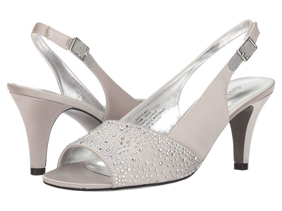 David Tate Stunning (Silver) Women's Shoes
