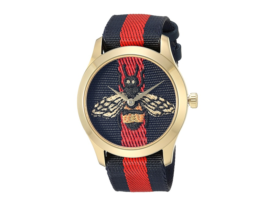 Gucci G-Timeless - YA1264061 (Blue/Red) Chronograph Watches