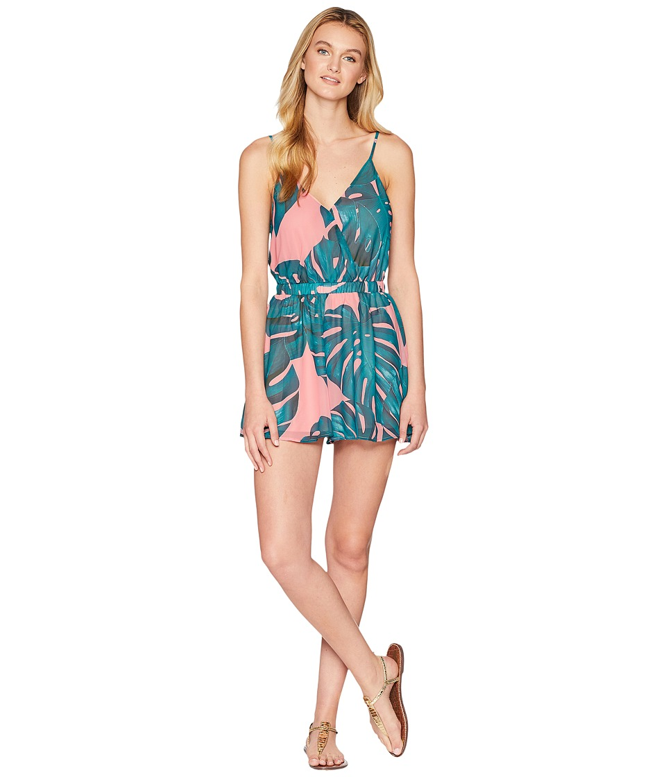Show Me Your Mumu - Olympia Romper (Palms Away) Womens Jumpsuit & Rompers One Piece
