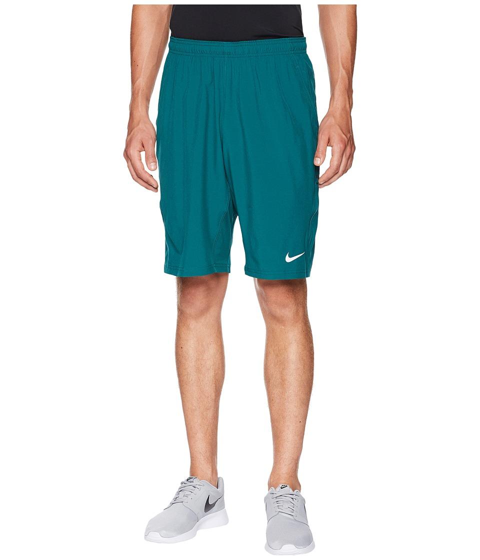 Nike N.E.T. 11 Woven Short (Rainforest/White) Men