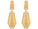 Vince Camuto Clip Double Drop Earrings