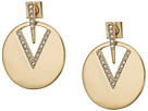 Vince Camuto Vince Camuto Metal Post Disc Earrings