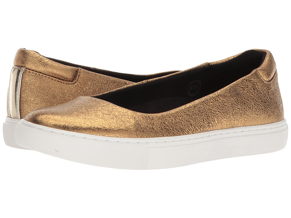 Kenneth Cole New York - Kassie (Gold Metallic Leather) Womens Shoes
