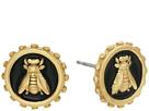 Vince Camuto Bee Charm Stud Earrings