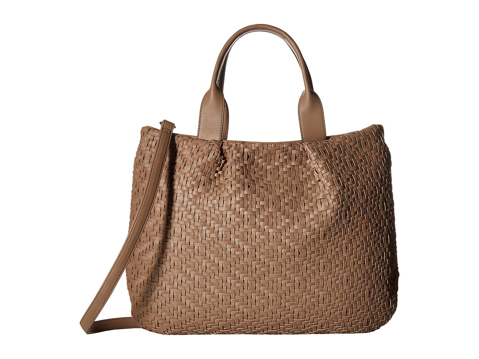 SOLE / SOCIETY - Clarice Medium Tote (Taupe) Tote Handbags
