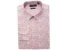 Nick Graham Floral Print Stretch Dress Shirt