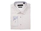 Nick Graham Square Dot Print Stretch Shirt