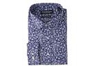 Nick Graham Floral Print Stretch Shirt