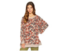 Free People Free People Go On Get Floral Top