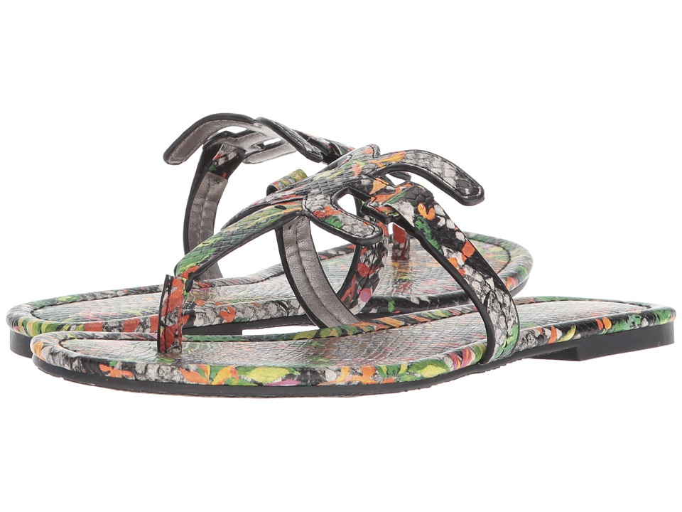 Sam Edelman - Carter (Bright Multi Blooming Cactus Shiny Burmese Python) Womens Sandals
