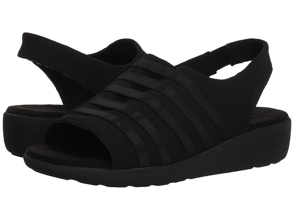 Easy Spirit - Kalilah 2 (Black/Black) Womens Sandals