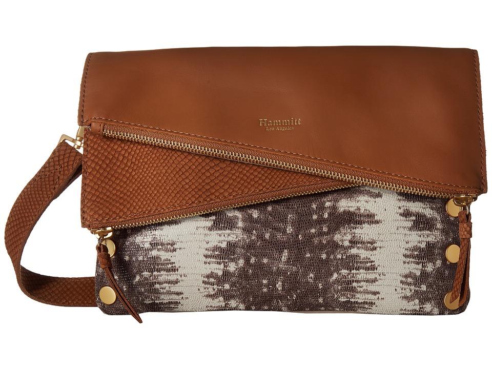 Hammitt - Dillon (Jurassic/Saddle/Brushed Gold) Handbags