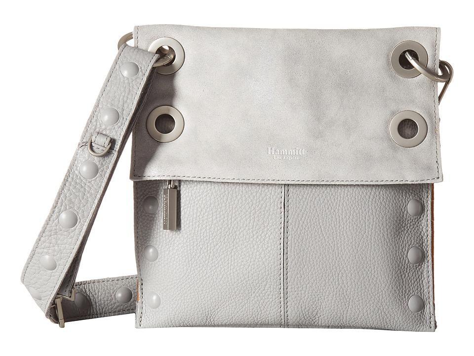Hammitt - Montana Rev Medium Embossed (Mist Buffed/Brushed Silver) Handbags