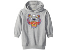 Kenzo Kids Hooded Tiger Fleece Dress (Little Kids)