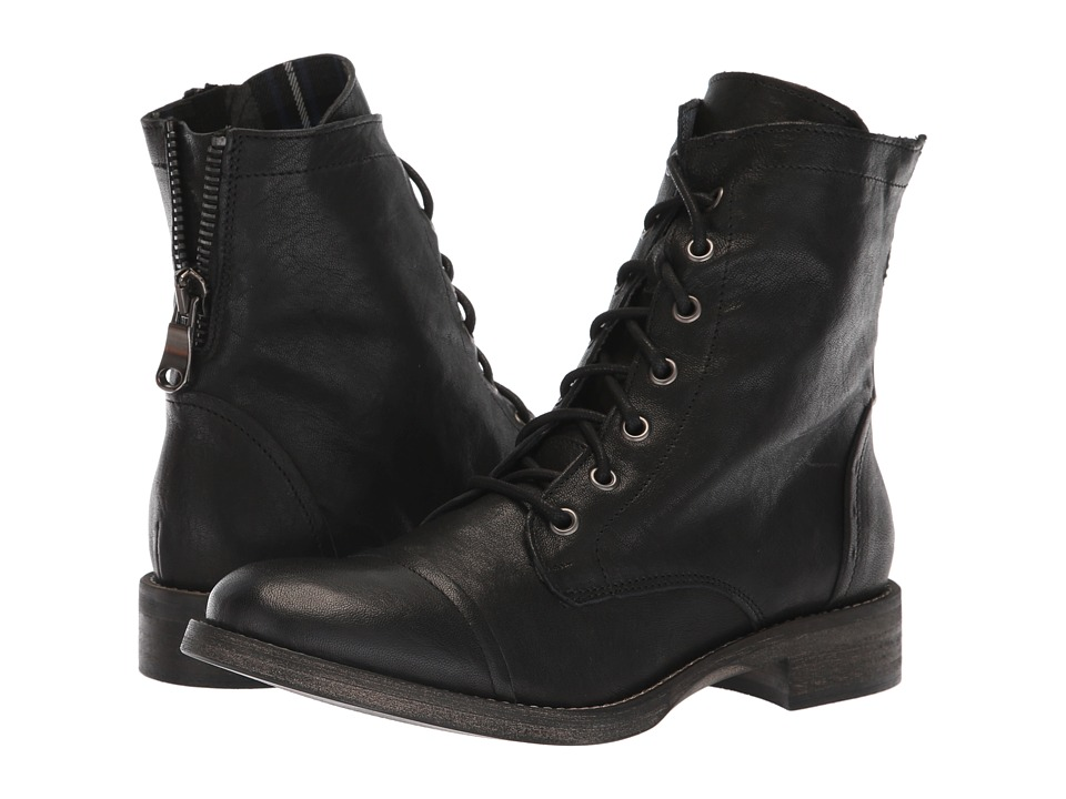 1930s Style Shoes – Art Deco Shoes Free People Portland Lace-Up Boot Black Womens Lace-up Boots $178.00 AT vintagedancer.com