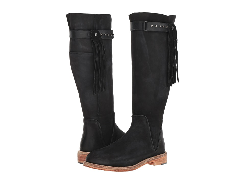 Free People Sayre Mid Boot (Black) Women's Pull-on Boots