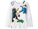 Kenzo Kids Jumping Tiger T-Shirt (Toddler/Little Kids)