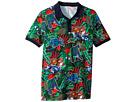 Kenzo Kids Printed Polo Shirt (Big Kids)