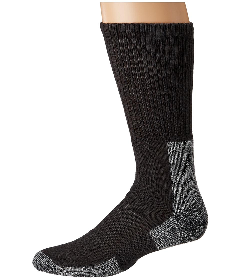 Thorlos - Trail Hiking Crew Single Pair (Castlerock Grey) Mens Crew Cut Socks Shoes