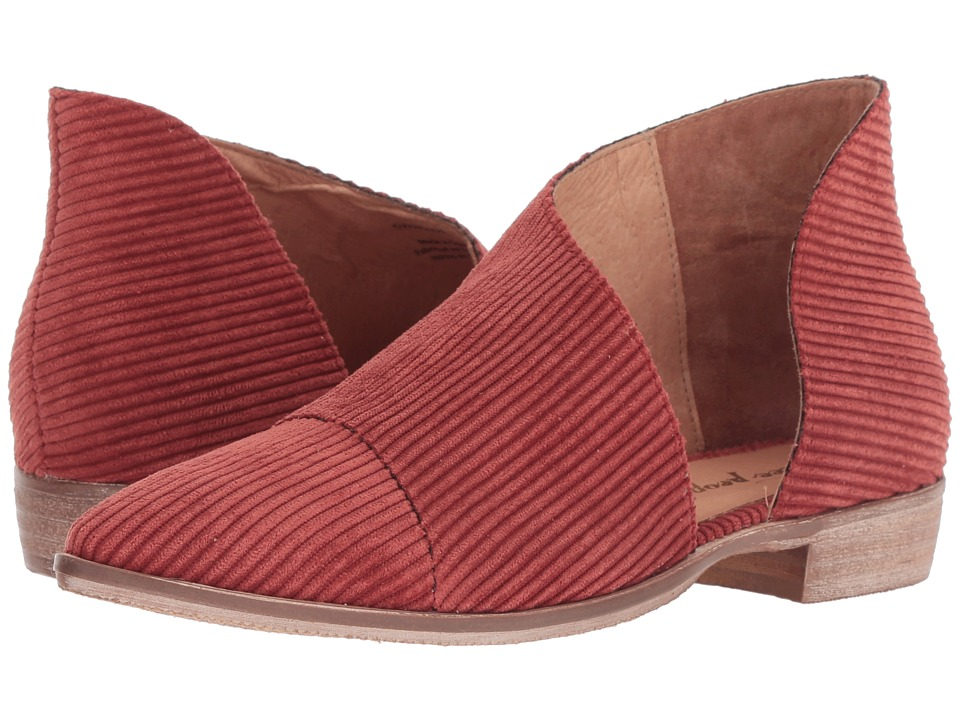 Free People Fabric Royale Flat (Burnt Orange) Flats