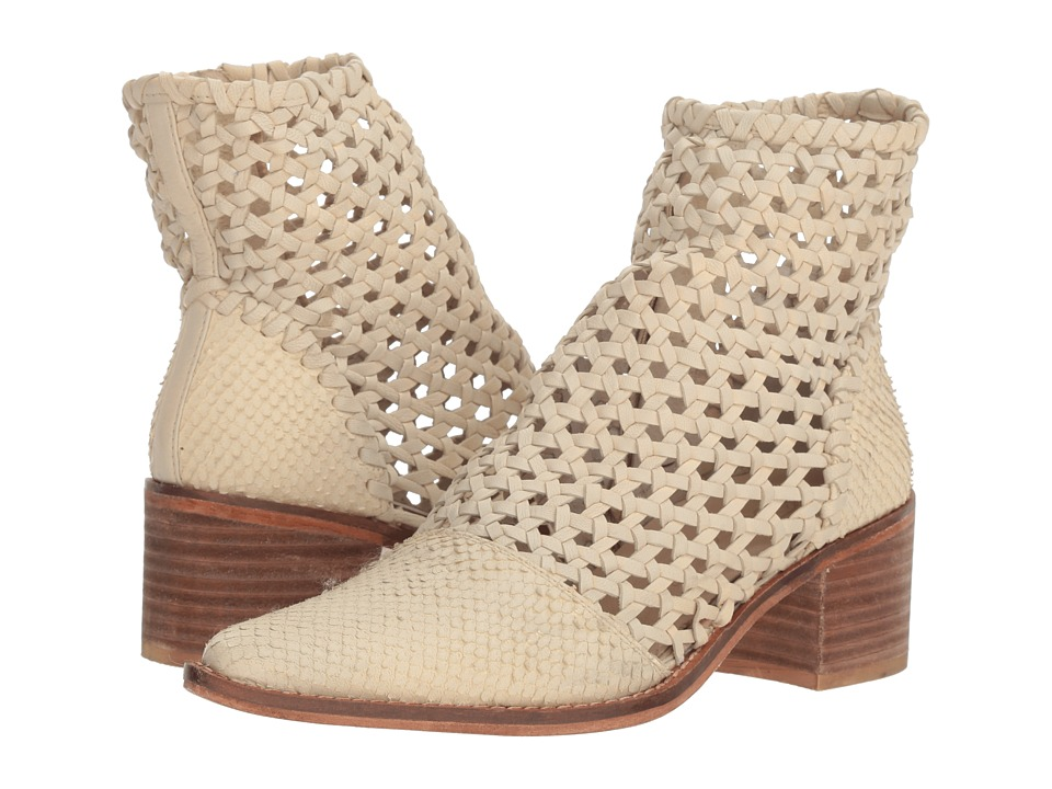 Free People In the Loop Woven Boot (White) Women's Pull-on Boots